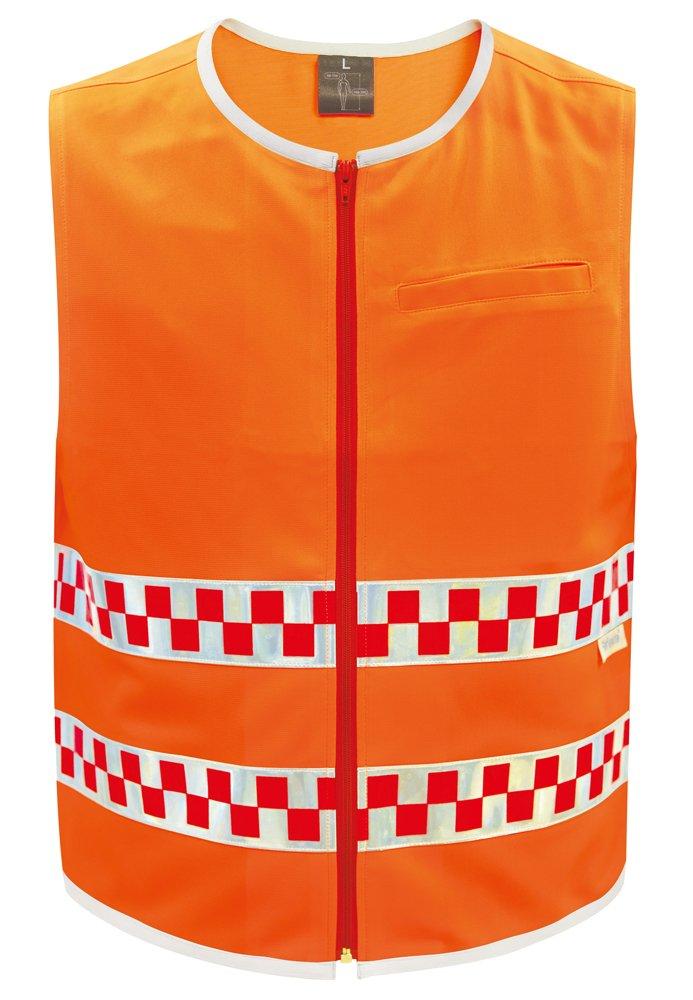 ORAFOL(オラフォル) 高視認性安全ベスト オレンジ LLサイズ ORA-002OR-LL B00EAJ5LO2