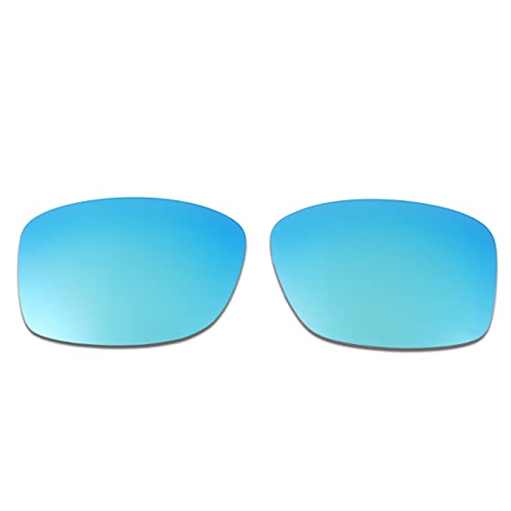 bf55cd64a23 Amazon.com  Hkuco Mens Replacement Lenses For Oakley Jupiter Squared Red  Blue 24K Gold Emerald Green Sunglasses  Clothing