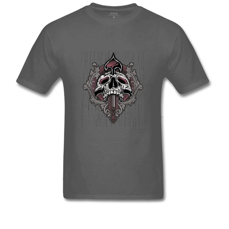 Pattern Men's Poly Cotton BlendT Shirt