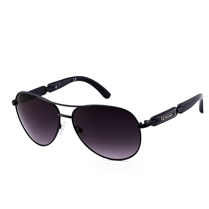 9866b8a2cd143 Image Unavailable. Image not available for. Color  Classic Aviator  Sunglasses For Women Men Metal ...