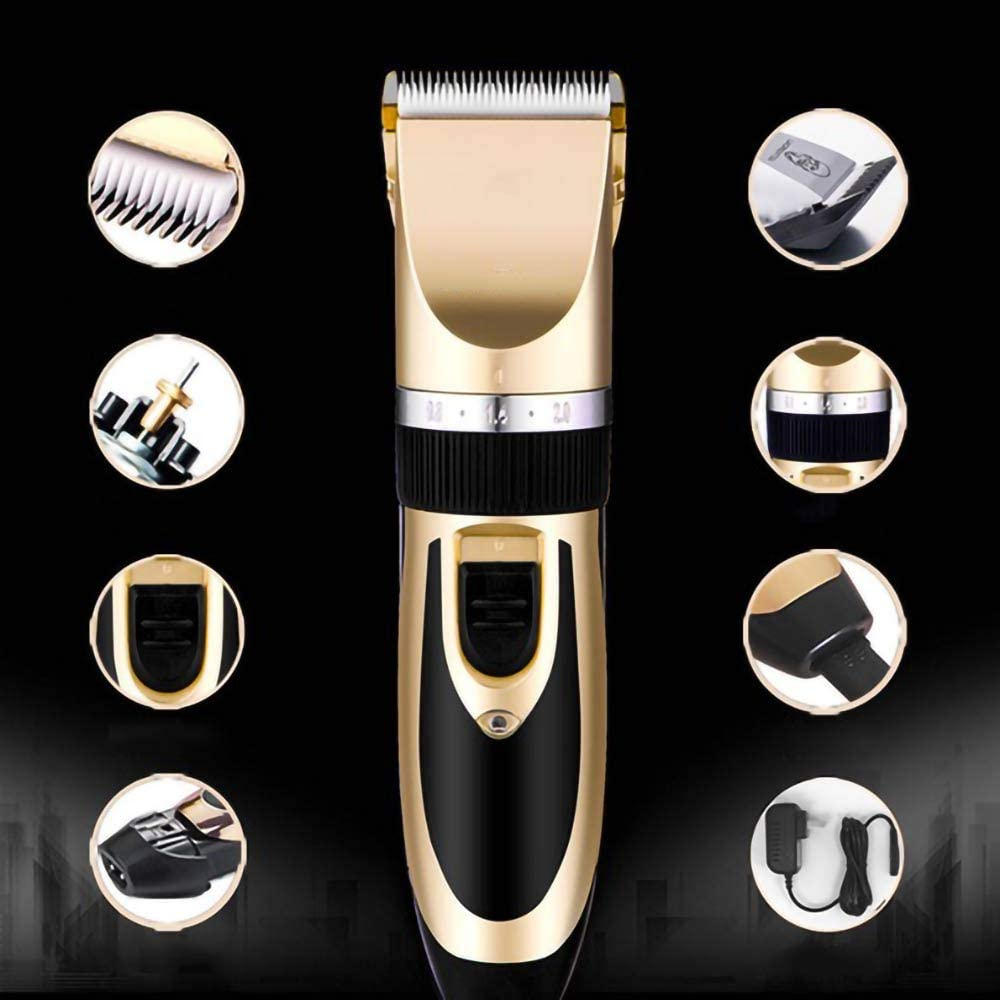 KKKD Professional Mens Hair Clippers Trimmers Cutting Machine Cordless Beard Shaver//