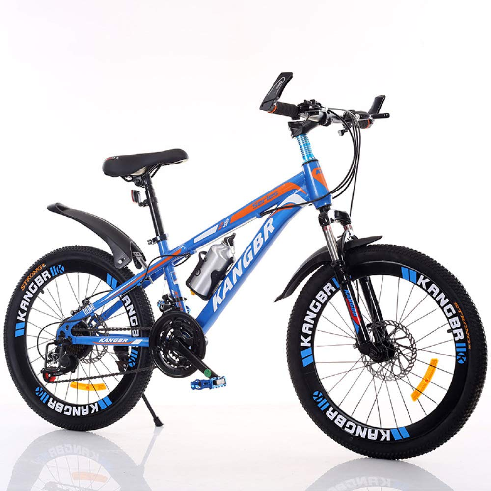 4957381493 Bikes XYUJIE Childrens Bicycle 20-22-24-26 Inch Shock Absorbing Paint  Inside The Disc Brakes ...