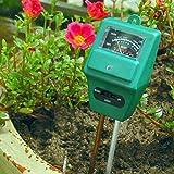 GrandSiri 1 Set 3-in-1 Soil Water Meter pH Testert for Moisture Ligh Garden Plant Flower