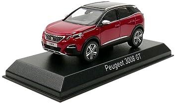 MétalEchelle 2016 Peugeot 143 3008 Miniature473884Rouge Véhicule Norev Gt L5jAR34