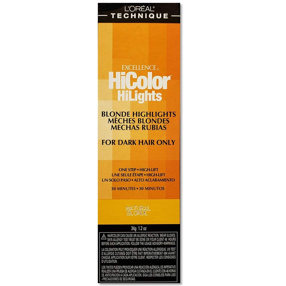 L'oreal Excellence Hicolor, Natural Blonde Highlights, 1.2 Ounce