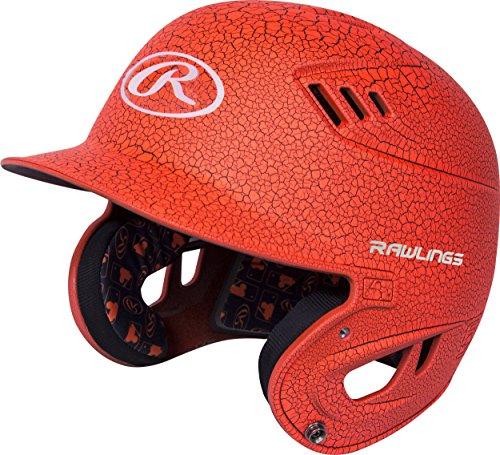 Orange Softball Batting Helmet - 8