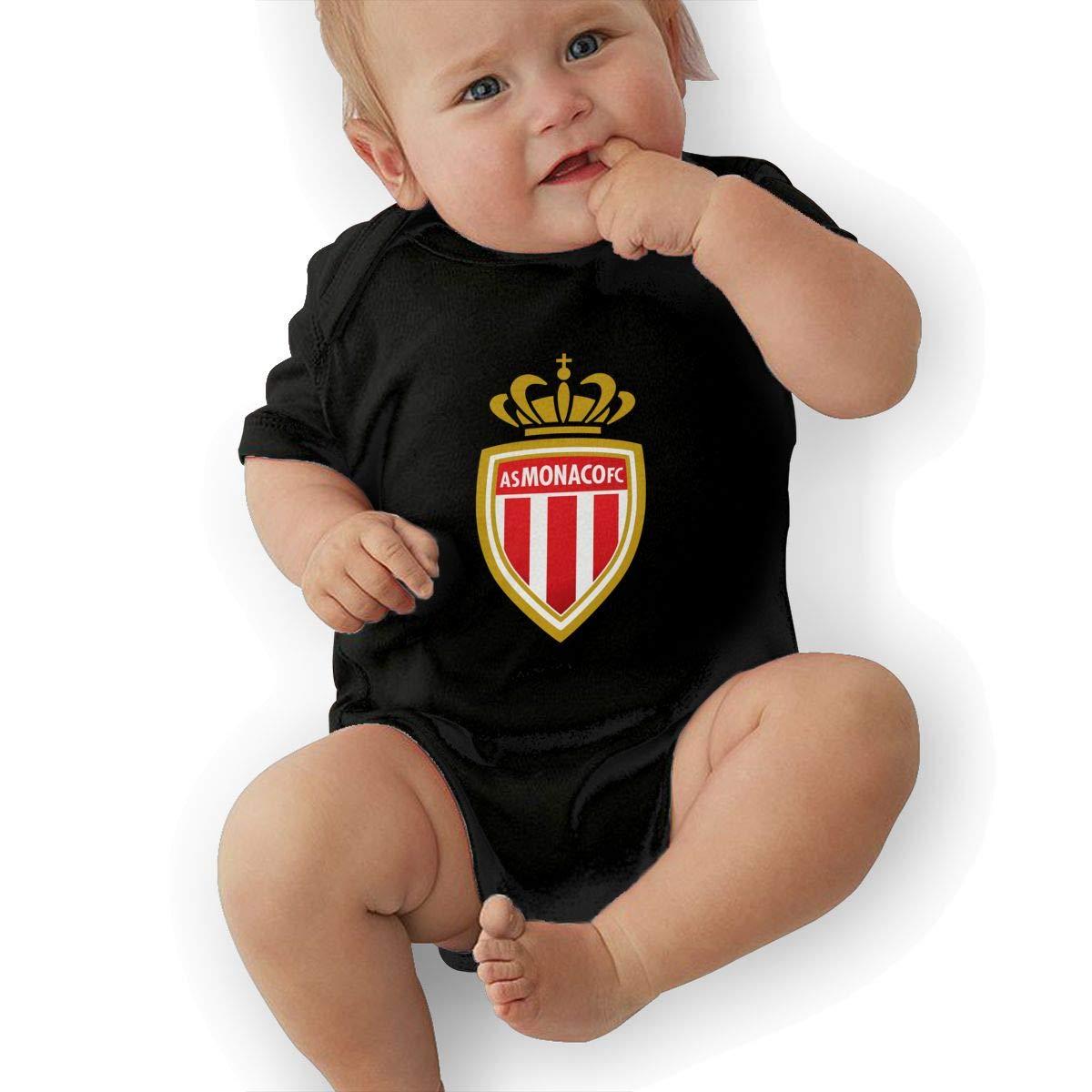 AS Monaco 0-3M Nouveau N/ée B/éb/é Tout-Petit Habits De B/éb/é Gar/çon Fille Barboteuse Jumpsuit Bodysuit Tenues
