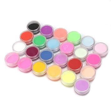 Perfect Dust 24 Colors Manicure Acrylic Powder Nail Art Tool Kit