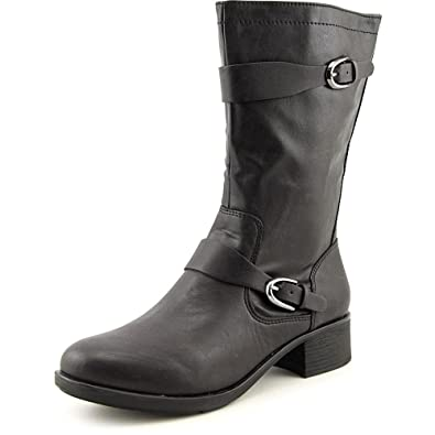 Style & Co Clemint Women US 8 Black Mid Calf Boot