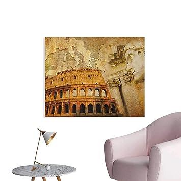 Amazon Com Anzhutwelve Retro Art Stickers Roman Empire