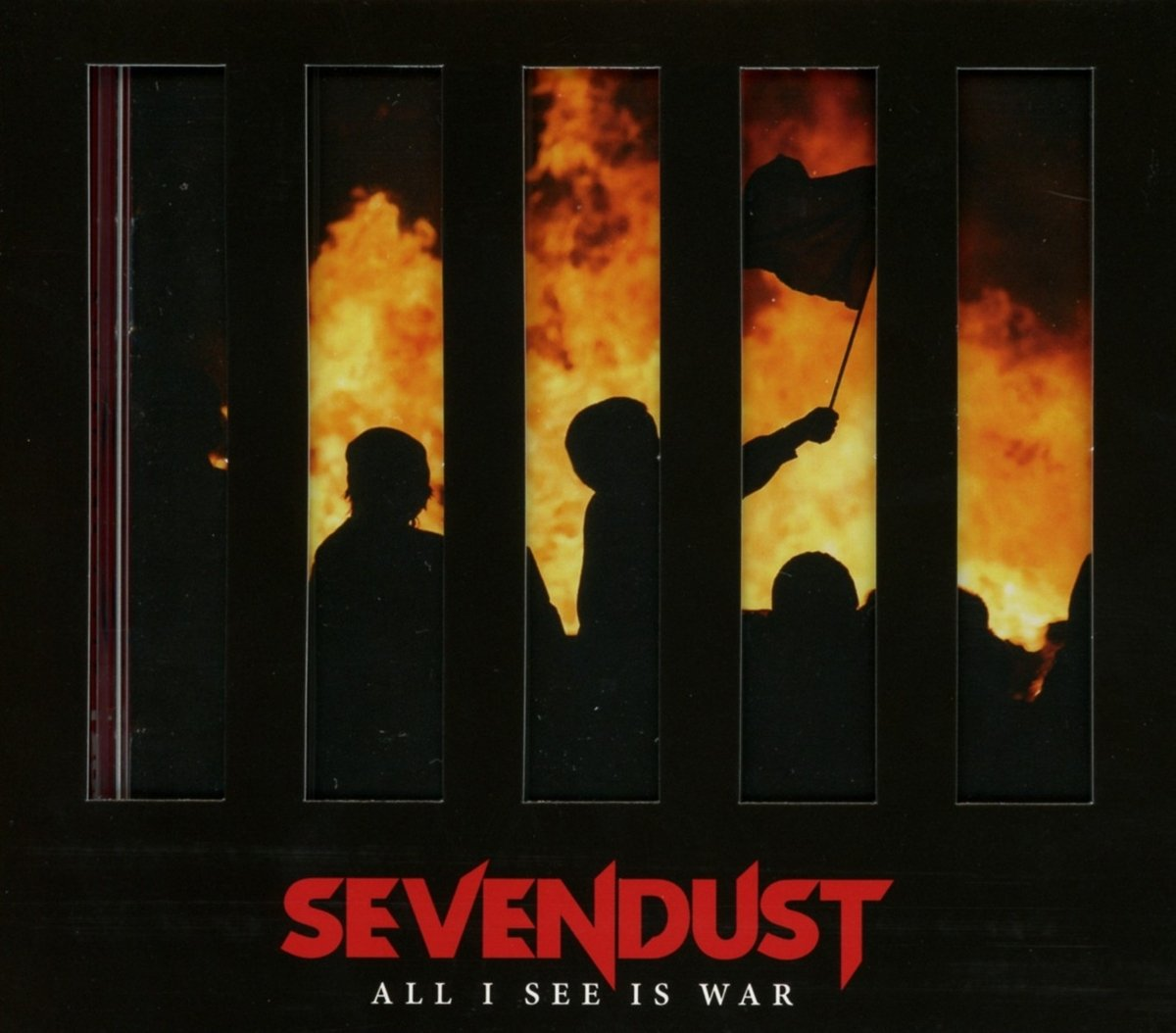CD : Sevendust - All I See Is War (CD)