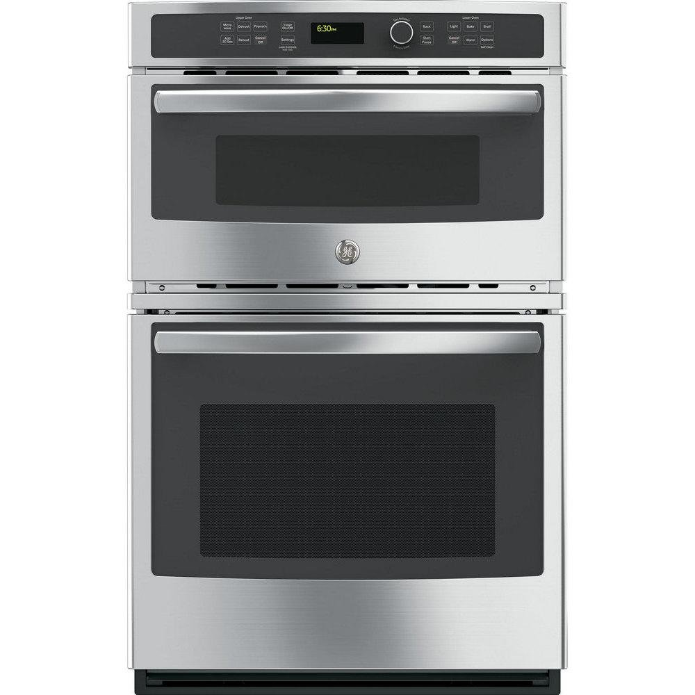 PK7800SKSS 27 Built In Combination Double Wall Oven/Microwave With 4.3 Cu.  Ft