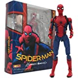 SPI-der Man Homecoming The SPI-derman Simple Style & Herioc Action PVC Action Figure Collectible Model Toy 14cm