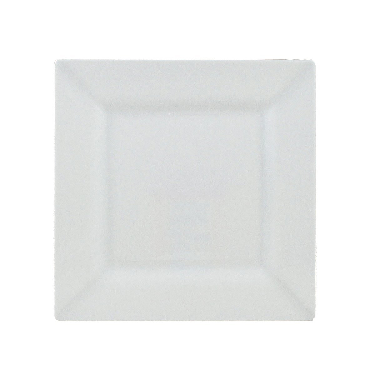 Maryland Plastics 10 Count Simply Squared Square Dessert Plates, 6-1/2