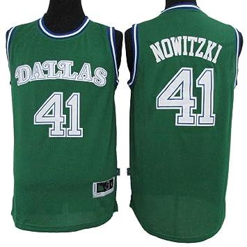 Sudadera de Baloncesto for Hombre NBA Nowitzki Dallas Mavericks No ...