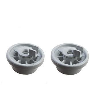 2 Cesta ruedas ruedas para diversos modelos de lavavajillas de ...