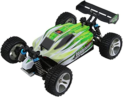 outlet à vendre dessins attrayants professionnel WLtoys A959B High Speed 43.5mph(70km/h) Buggy Off Road RC Car | Almost  Ready 1:18 4WD Racing Cars w/ 2.4G Radio Remote Control & Charger (540  Brush ...