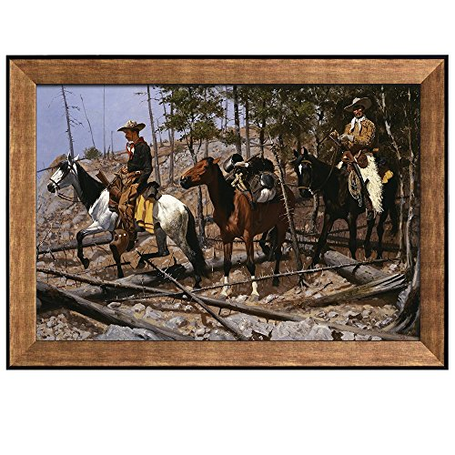 The Herd Boy by Frederic Remington Framed Art