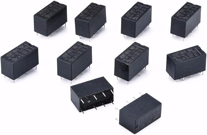 5 x 6 V Mini Puissance Relais inverseurs 15 A