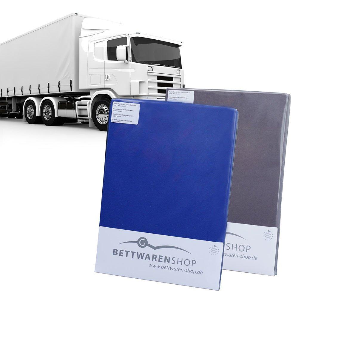Artículos de cama de Shop sábana bajera para camiones Truck colchones, 100 % algodón, azul real, 75 x 220 cm: Amazon.es: Hogar