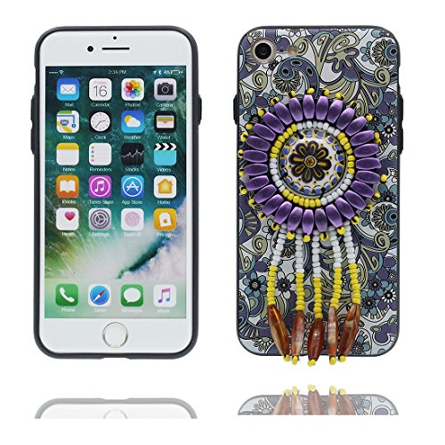 """iPhone 6 Plus Coque Cover, 3D Bead accessoire, TPU Flexible Unique Designed Style national iPhone 6 Plus Étui iPhone 6S Plus Case 5.5"""" Poussière Poof Stylish"""