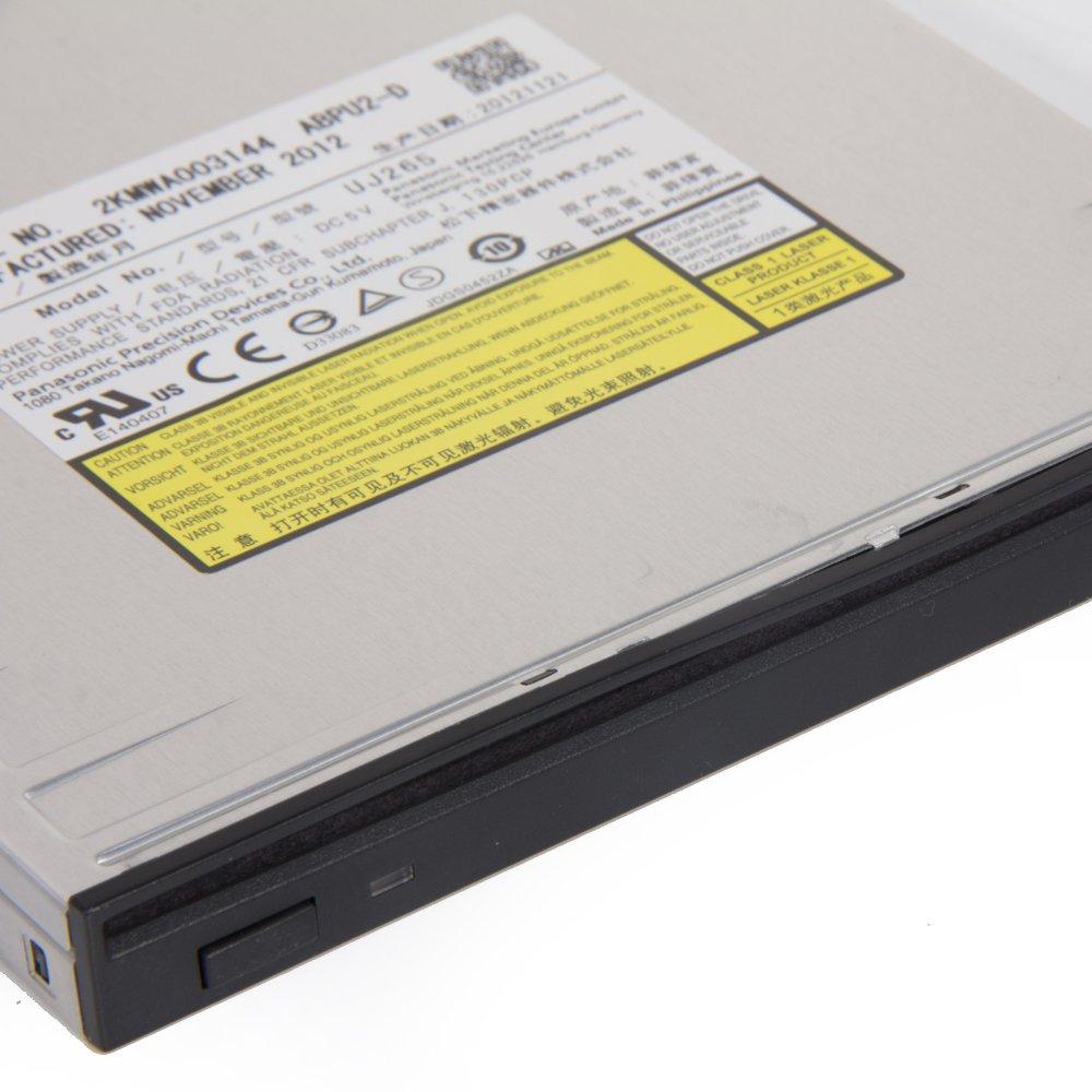 Panasonic UJ-265 Slim 6X Blu-ray Writer SATA Slot Load