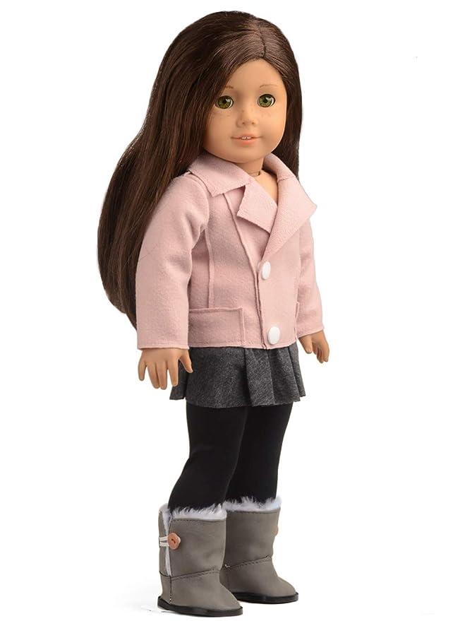 Amazon.com: Chaqueta de lana para muñecas y muñecas, para ...