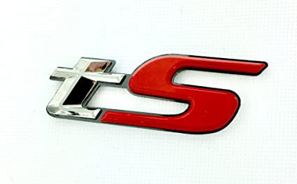 Amazon com: METAL tS Emblem for Subaru BRZ Forester GT86 FRS STI