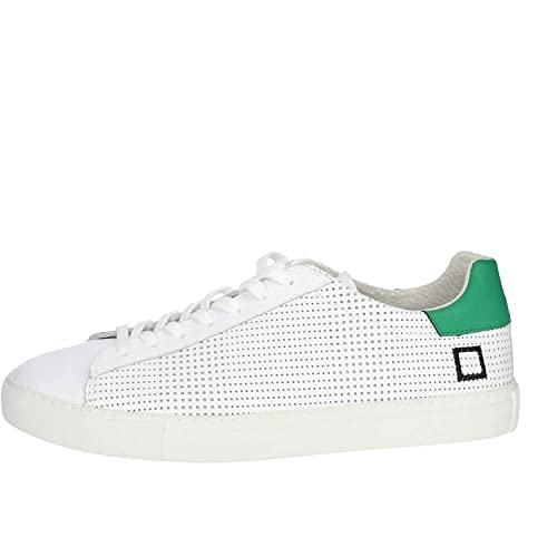 D.A.T.E. NEWMAN 32 Sneakers Bassa Uomo Bianco 45: Amazon.it