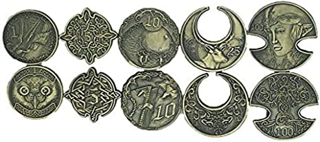 Norse Foundry Adventure Metal Coins Variety Pack Set Of 10 Elven Style Rpg D D Accessories Amazon Canada Loot finder will handle the tedious search for you! norse foundry adventure metal coins