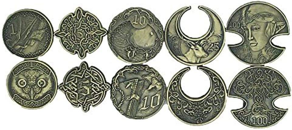 Amazon Com Norse Foundry Adventure Coins Metal Plated Novelty Variety Pack Set Of 10 Elven Style Rpg D D Toys Games Treat yourself to huge savings with norse foundry coupons: norse foundry adventure coins metal