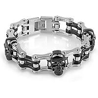 YSM Motorcycle Bracelet Masculine Men's Bike Chain Cuff
