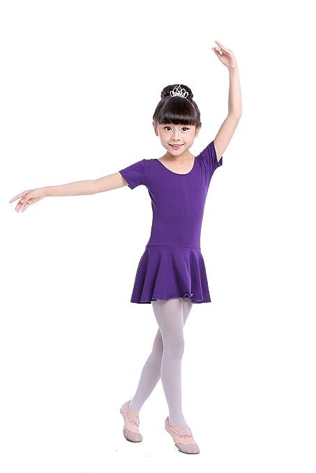 DoGeek Vestido Danza Vestido de Ballet Honda Gimnasia ...