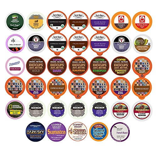 40 count COFFEE Brewers Variety Sampler product image