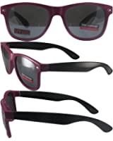 2647c0fa299 Swag Hipster B Sunglasses Wayfarer Style Pink Black Frames Flash Mirror  Lenses
