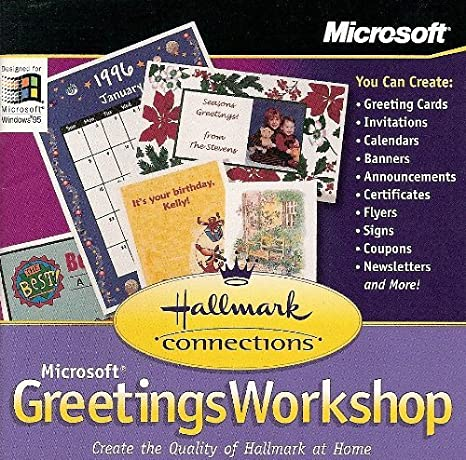 microsoft greeting cards