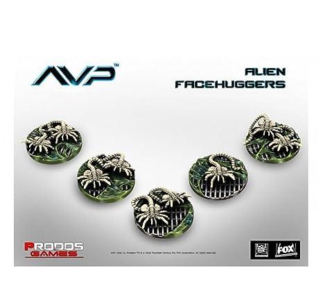 Ninja Division AvP Facehuggers Board Game