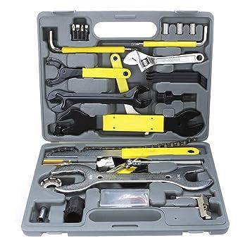 44 en 1 herramientas de bicicleta, conjunto de herramientas de ...