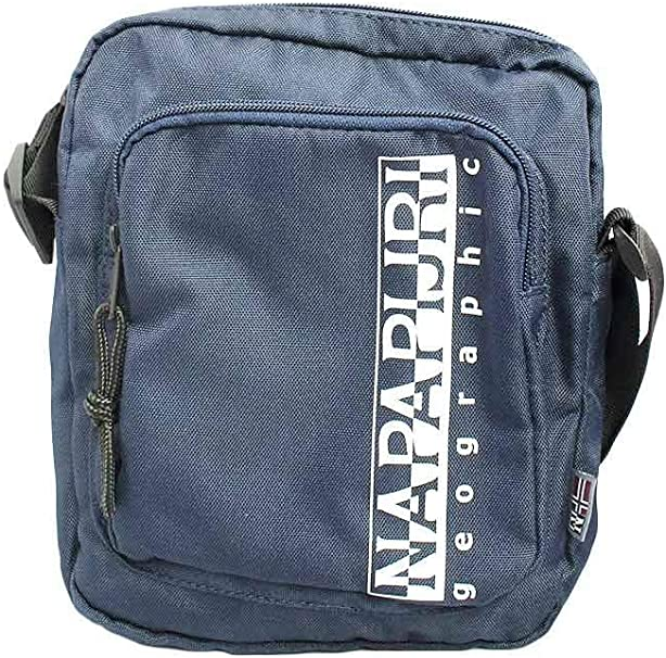 Napapijri Happy Cross Pocket 1 Borsa a tracolla, 0 cm, blu