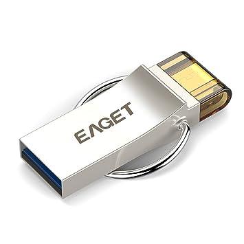 Clef Usb Go Micro OTG Métal à Double Usage EAGET V Cle USB - Porte clé usb