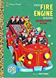 The Fire Engine Book and Other Stories to Color, Golden Books Staff, 0375839291