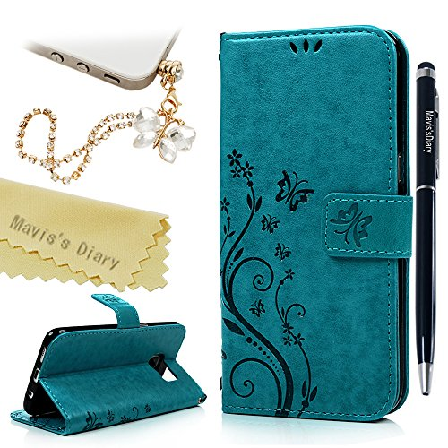 Galaxy Edge Wallet Case Butterfly product image