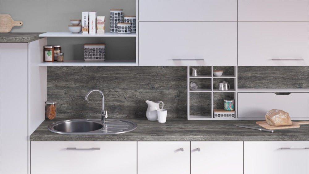 Egger Contemporary Jackson Pine Wood Effect Kitchen Bathroom Laminate Worktop Offcut Work Surface 40mm Breakfast Bar - 1m x 600mm x 38mm Worktop