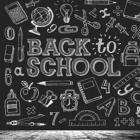 amazon com ofila back to school backdrop for kids 6x6ft children