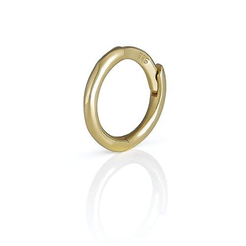 Diversa Piercing 0 31 Clicker Single Earring In 18k Gold