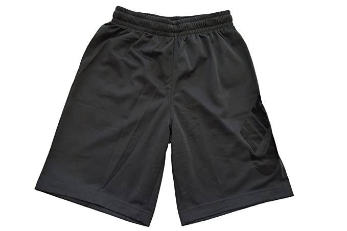 buy popular 122db 17f5e Amazon.com  Nike Boys Youth SB Logo Dri Fit Shorts S Dark Grey  Clothing