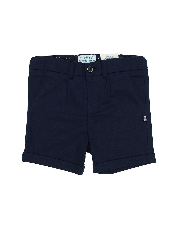 Mayoral 1276 Dressy Stretch Shorts for Baby-Boys Blue