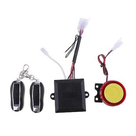 perfk Alarma Antirobo Seguridad Universal Fácil Instalar con ...