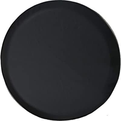 American Educational Products Marine Grade Blank Black Dealer Quality Spare Tire Cover (Fits Jeep Wrangler, SUV, Camper, RV Accessories) Black Size 29 in: Automotive