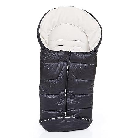 Abc Design Universal Fußsack Winterfußsack Für Kinderwagen Buggy Thermo Fleece Wasser Windabweisend Anti Rutsch Pads Mumienfunktion Sheep Grau Beige Schwarz Weiss Baby